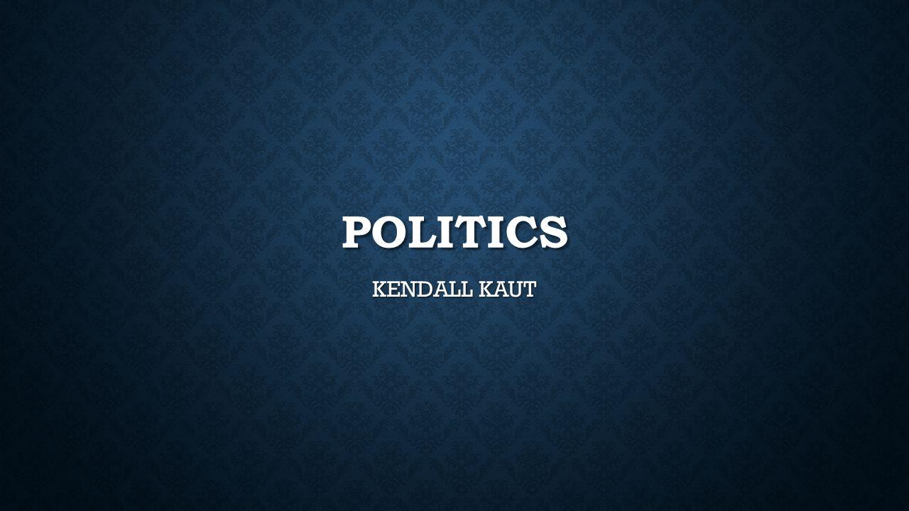 POLITICS KENDALL KAUT