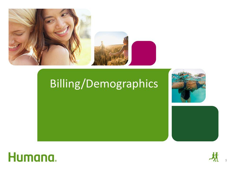 Billing/Demographics 5