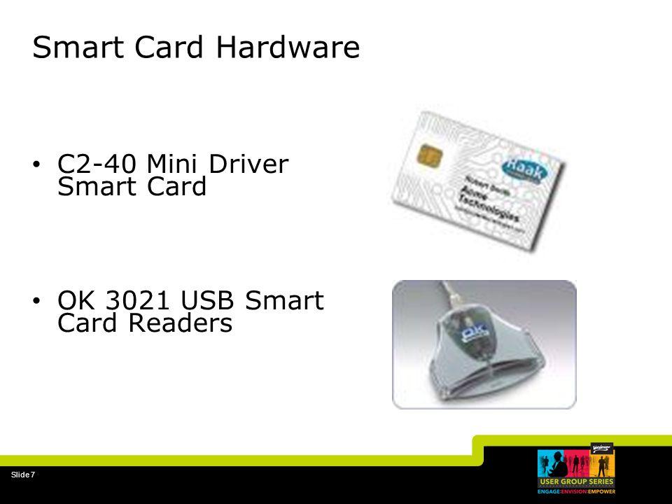 Slide 7 Smart Card Hardware C2-40 Mini Driver Smart Card OK 3021 USB Smart Card Readers