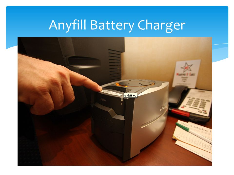 Anyfill Battery Charger