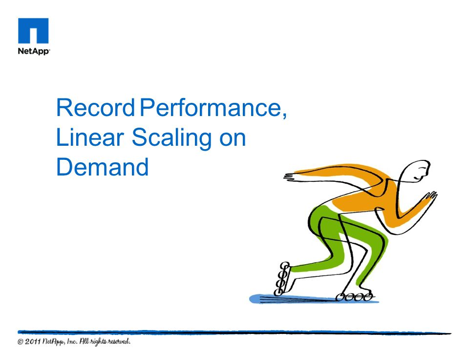 Record Performance, Linear Scaling on Demand