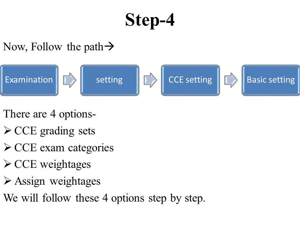 Step-6.4 Now Go to Assign Co-scholastic items.