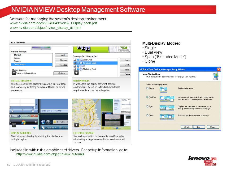 Nvidia nview desktop manager