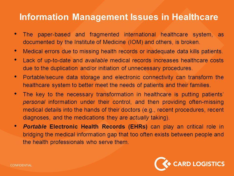 Card Logistics – Healthcare Solution Pharmacy Hospital Patient .