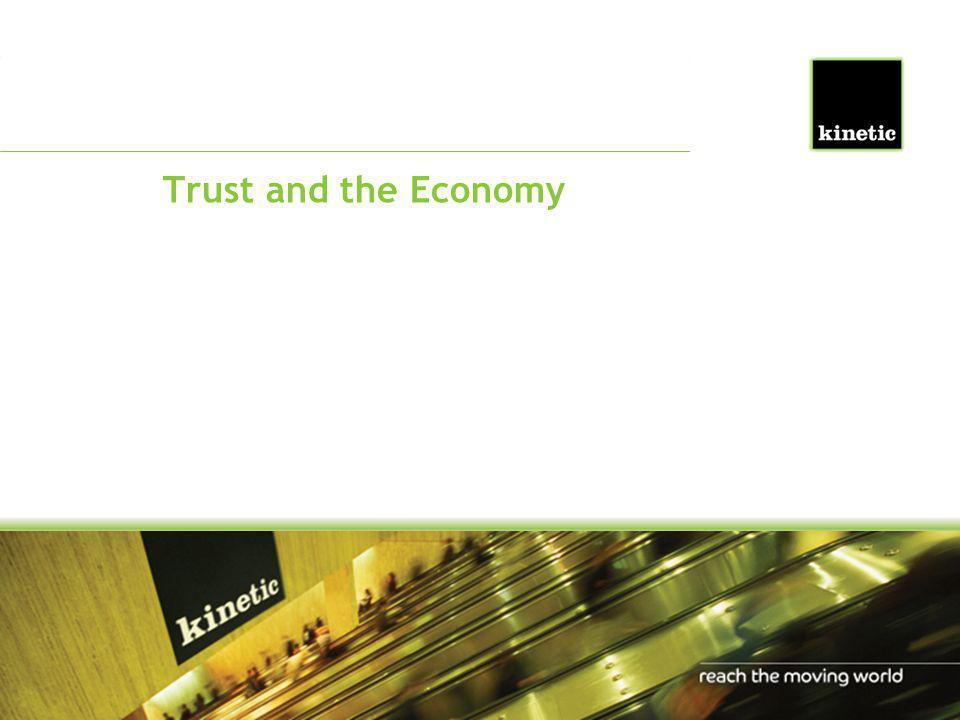 Trust and the Economy