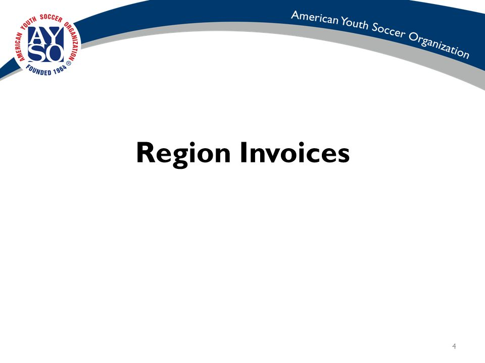 4 Region Invoices