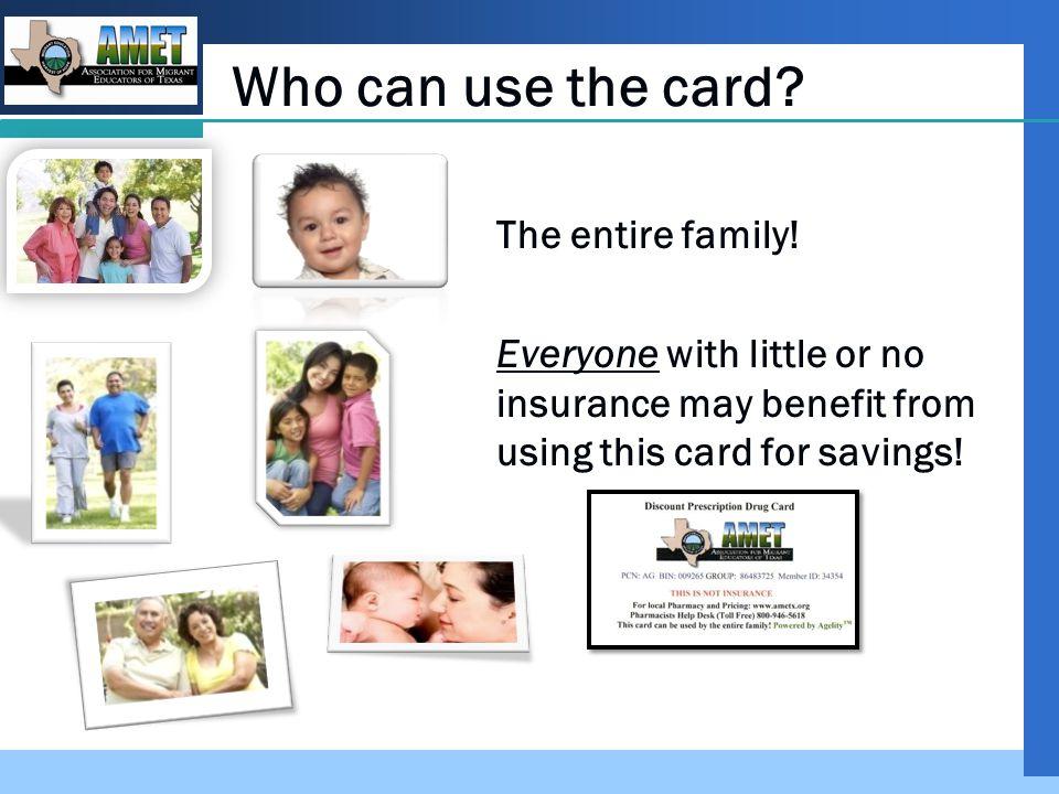 Company LOGO Where can I get a card.