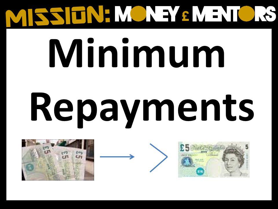 Minimum Repayments