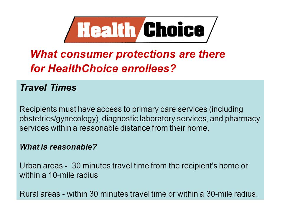 What consumer protections are there for HealthChoice enrollees.