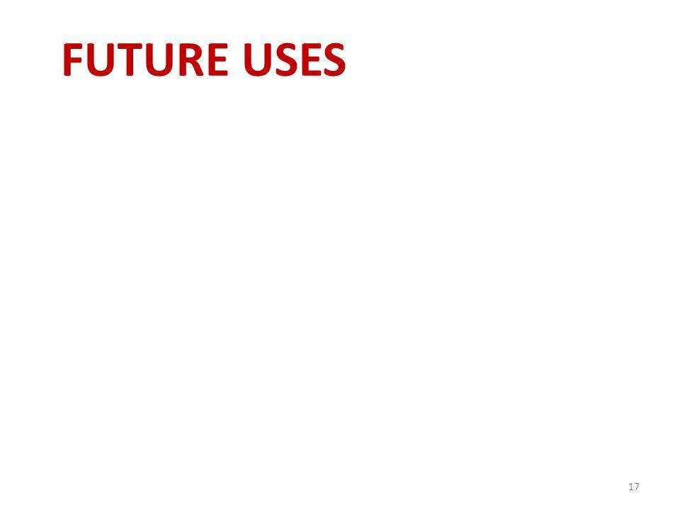 FUTURE USES 17