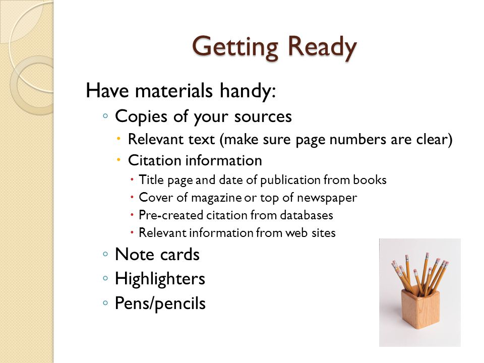 Citing Books Basic Format for a Work Prepared by an Editor Lastname, Firstname, Ed.