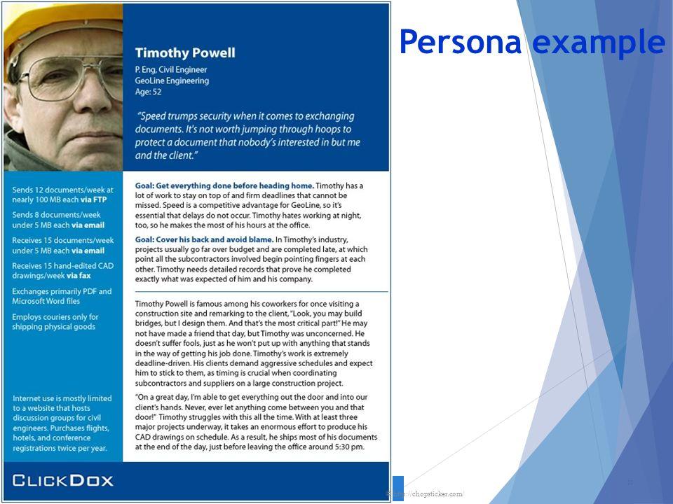 Persona example 20 © http://chopsticker.com/