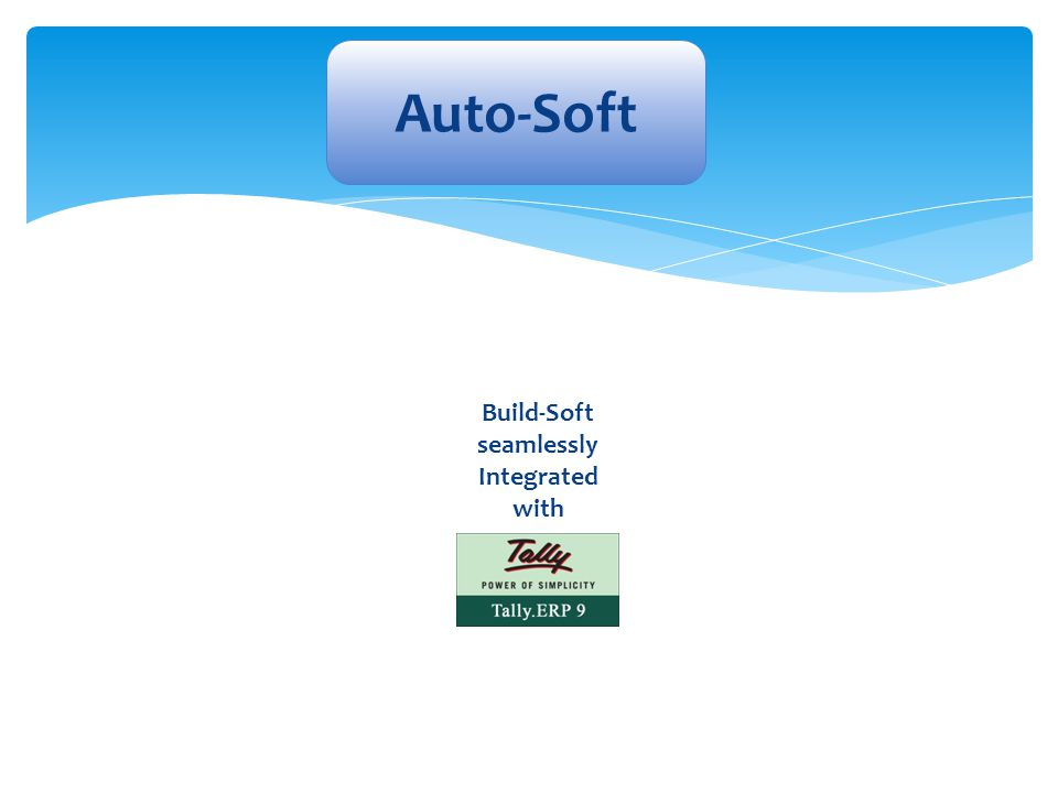 Build-Soft seamlessly Integrated with
