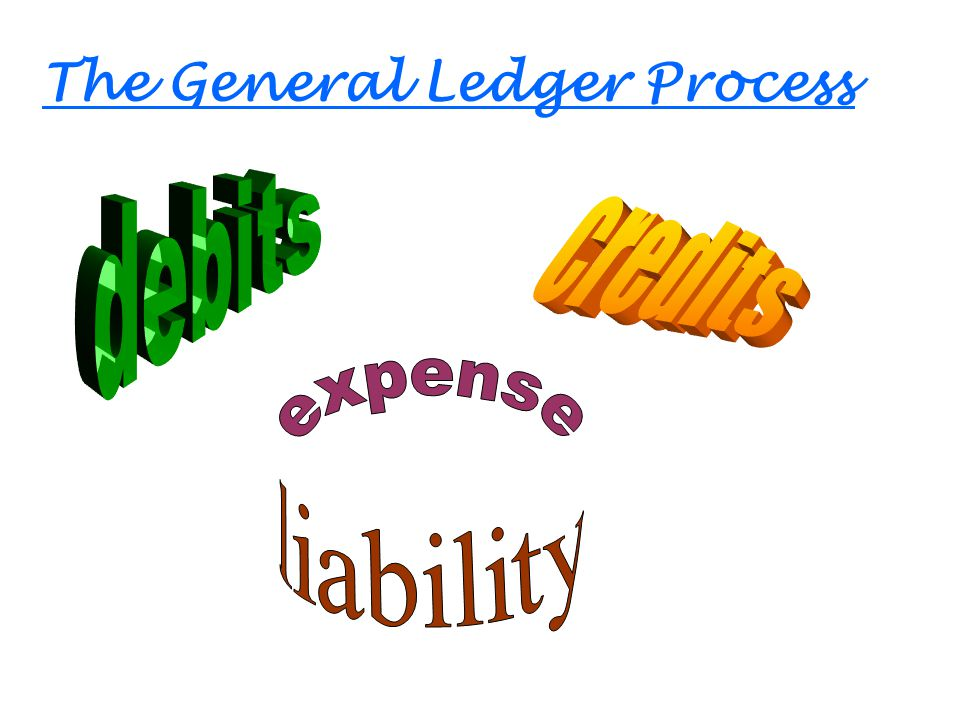 The General Ledger Process