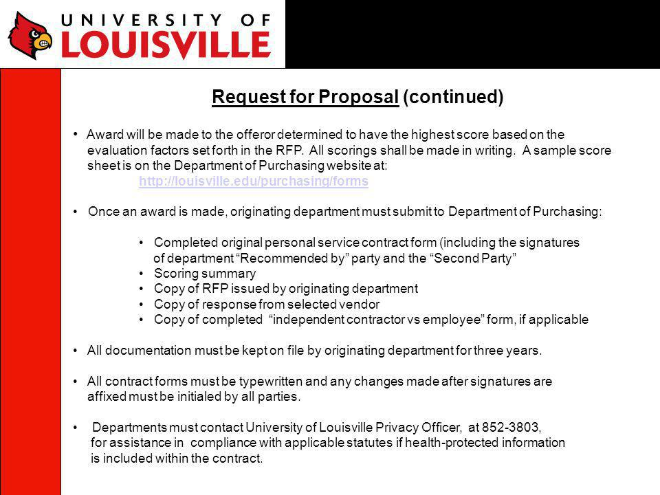 Forms University of Louisville State Appropriated Funds University of Louisville Research Foundation Funds University of Louisville Athletic Association Funds University of Louisville Foundation, Inc.
