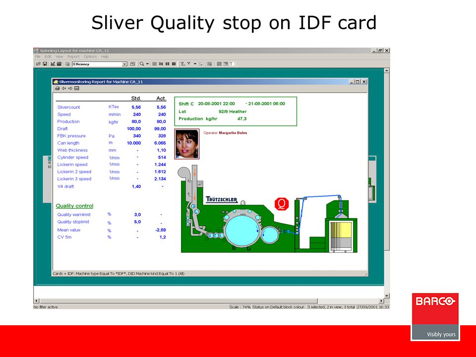 Sliver Quality stop on IDF card