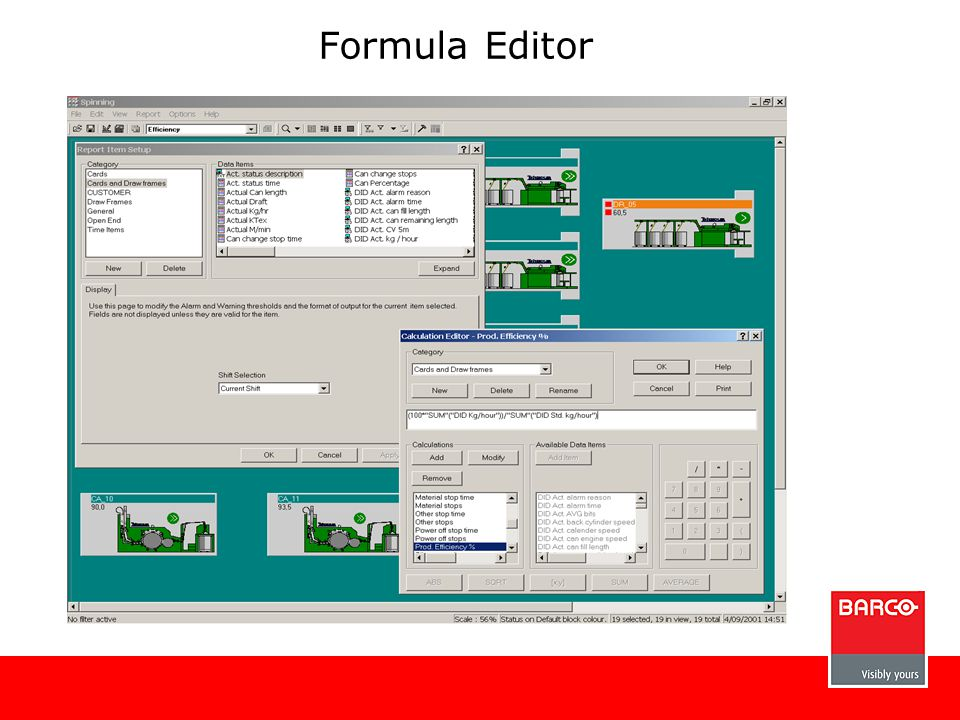 Formula Editor