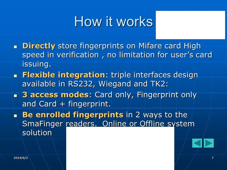 2014/6/2 Giga-Tms 17 Non - Database Mode Has one mode.