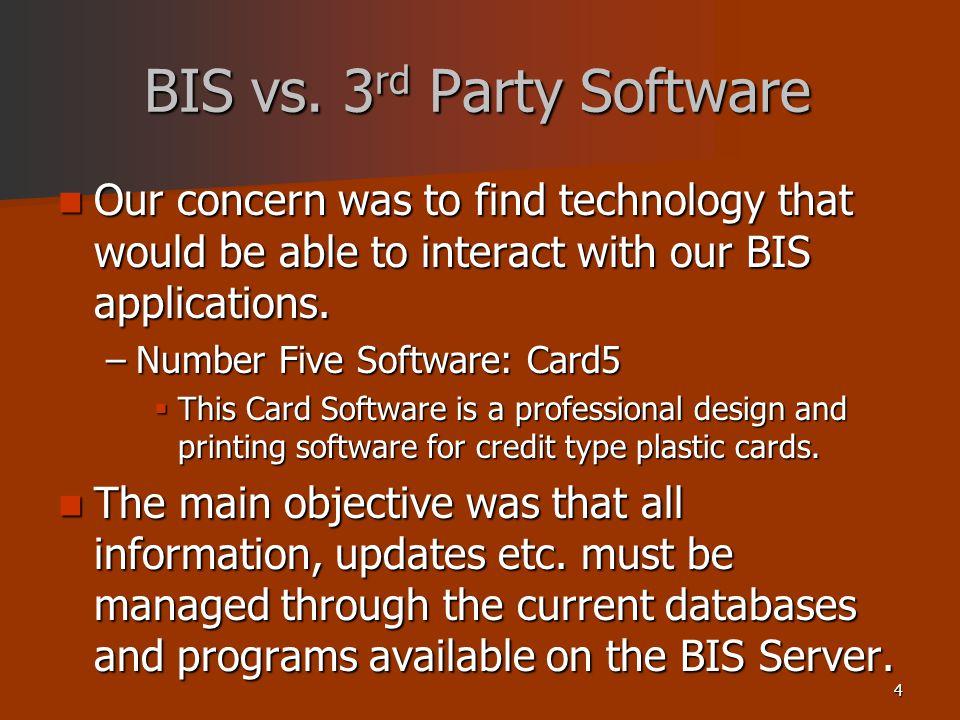 4 BIS vs.