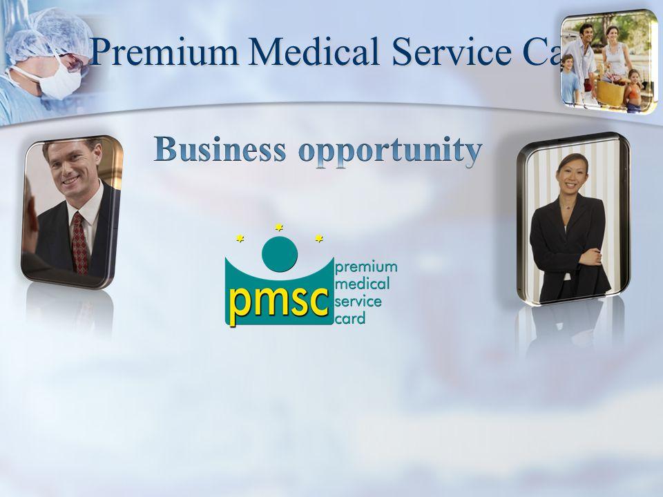 Premium Medical Service Card