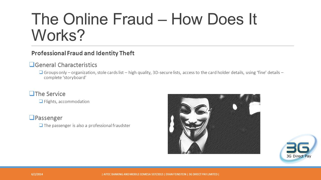 The Online Fraud – How Does It Works.