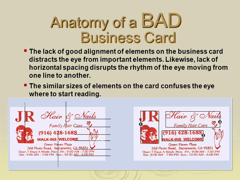 Redesigned Card Front