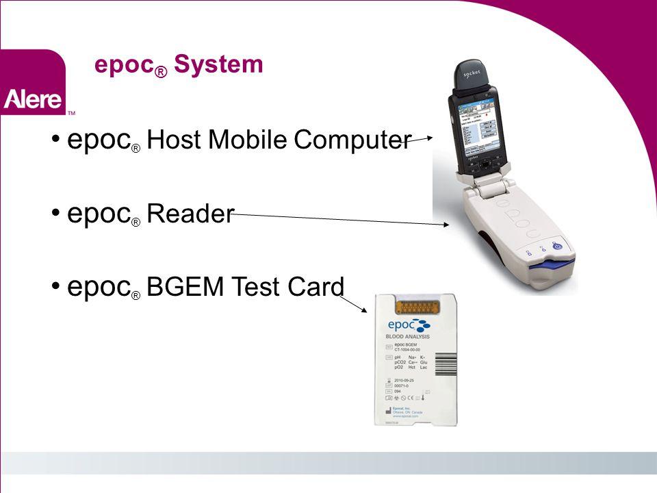 epoc ® System: epoc ® Data Manager (server-based)