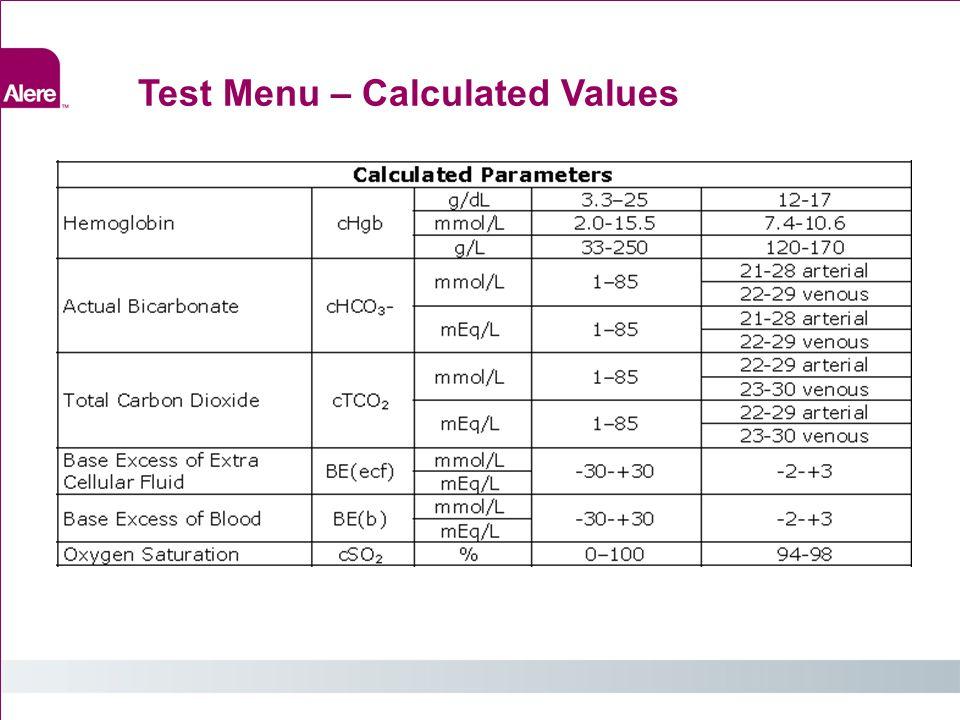 External Liquid Quality Controls Value Assignment Datasheet 49 Section 9.5: Value Assignment Datasheet