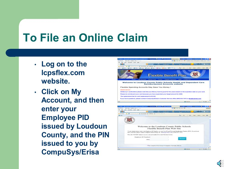Claim filing options You may mail a claim to: CompuSys/Erisa at : 12325 Hymeadow Dr., Bldg 4-100 Austin Texas 78750 You may fax a claim to CompuSys/Er