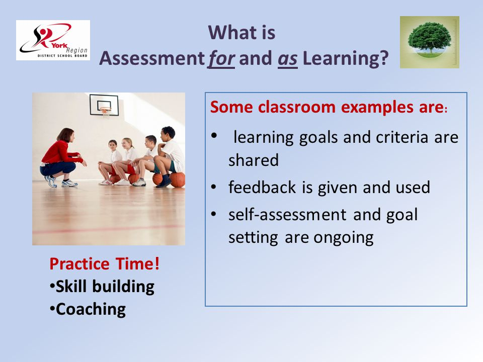 What is Assessment of Learning.