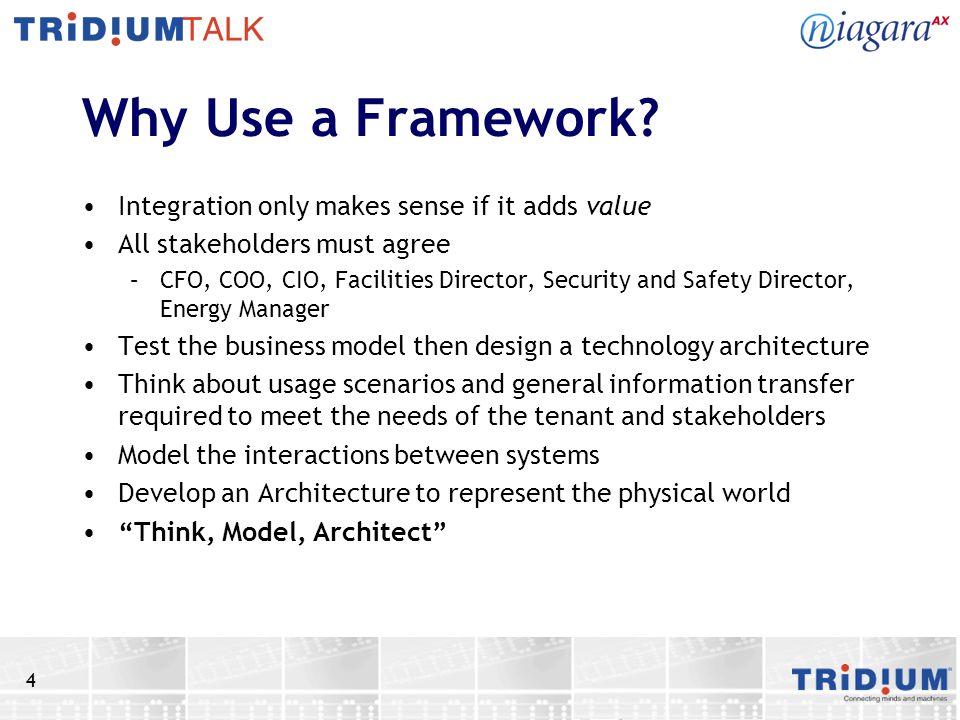 4 Why Use a Framework.