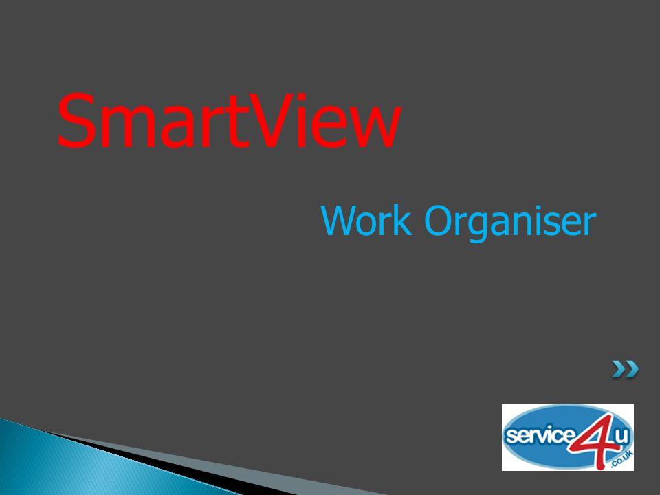 SmartView Work Organiser