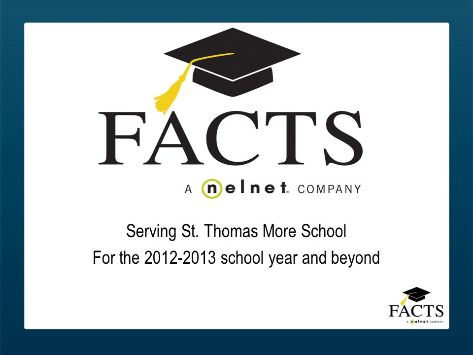 Serving St. Thomas More School For the 2012-2013 school year and beyond