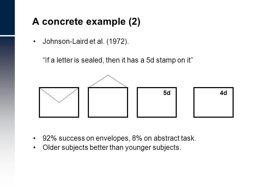 Johnson-Laird et al. (1972).