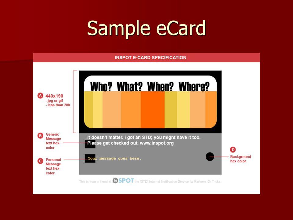 Sample eCard