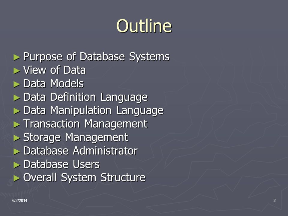 6/2/20143 Database Definition What is Database.