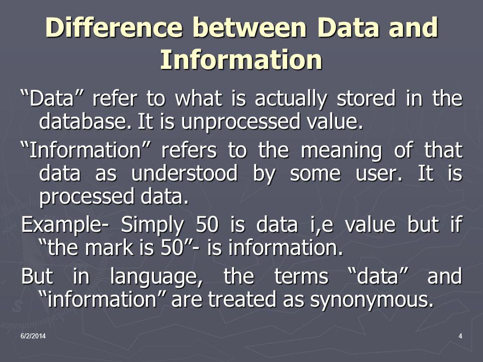 Database(Back End) 6/2/20145