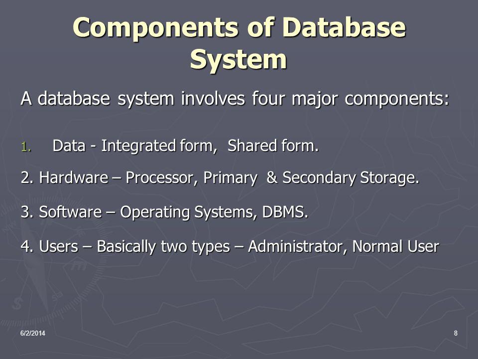 6/2/201429 SQL SQL: widely used non-procedural language SQL: widely used non-procedural language E.g.