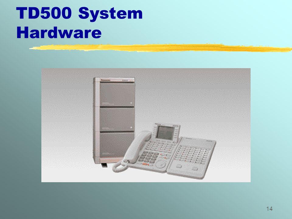 14 TD500 System Hardware