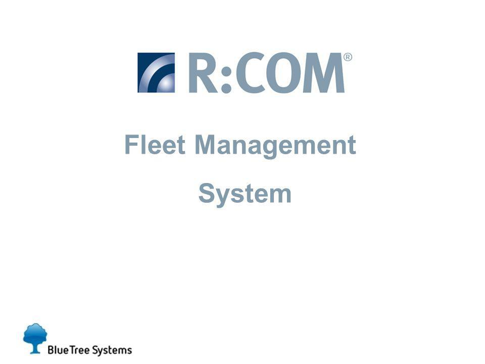 Introducing the… Fleet Management System
