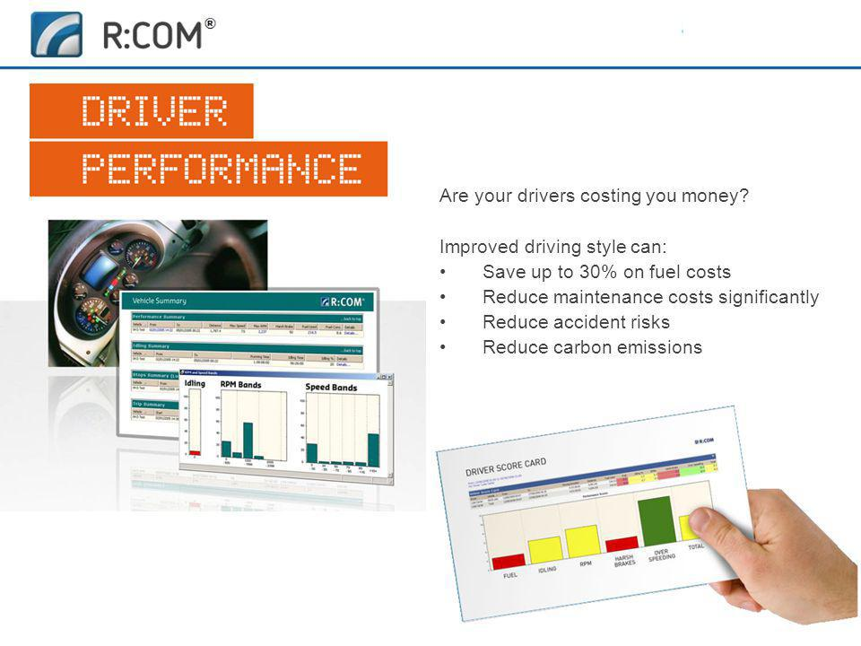 Are your drivers costing you money.
