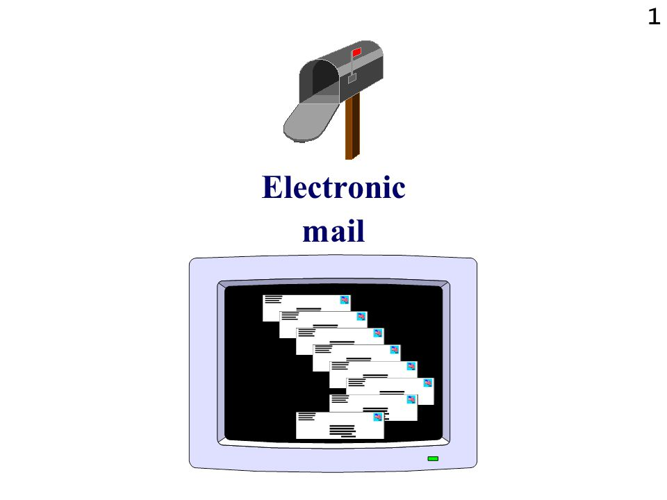 1 Electronic mail