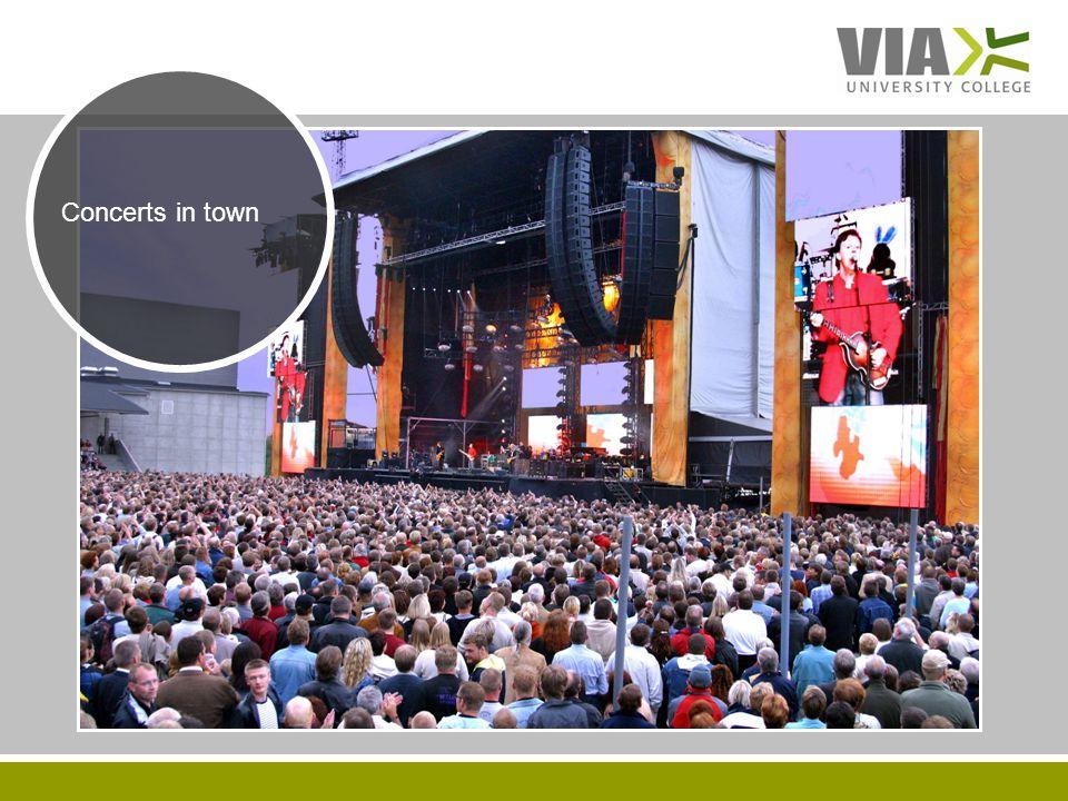 VIAUC.DK Concerts in town