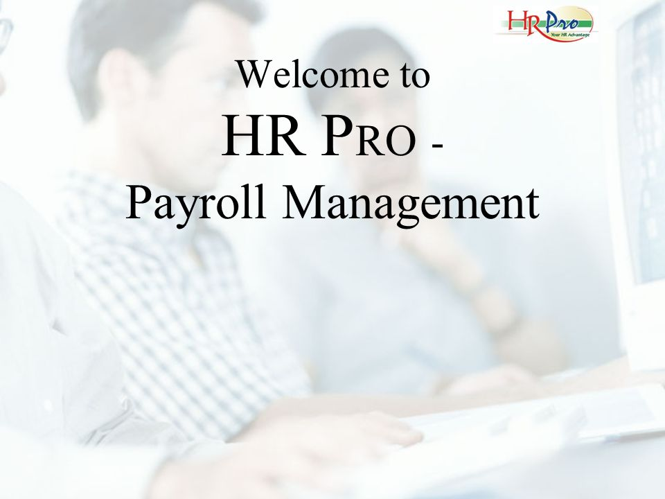 This is the Login Screen for HR Pro.