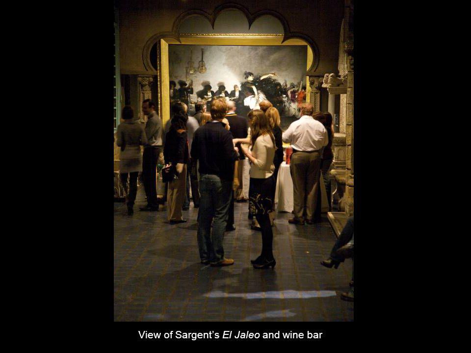 View of Sargents El Jaleo and wine bar