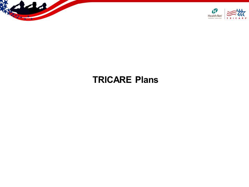 TRICARE Plans