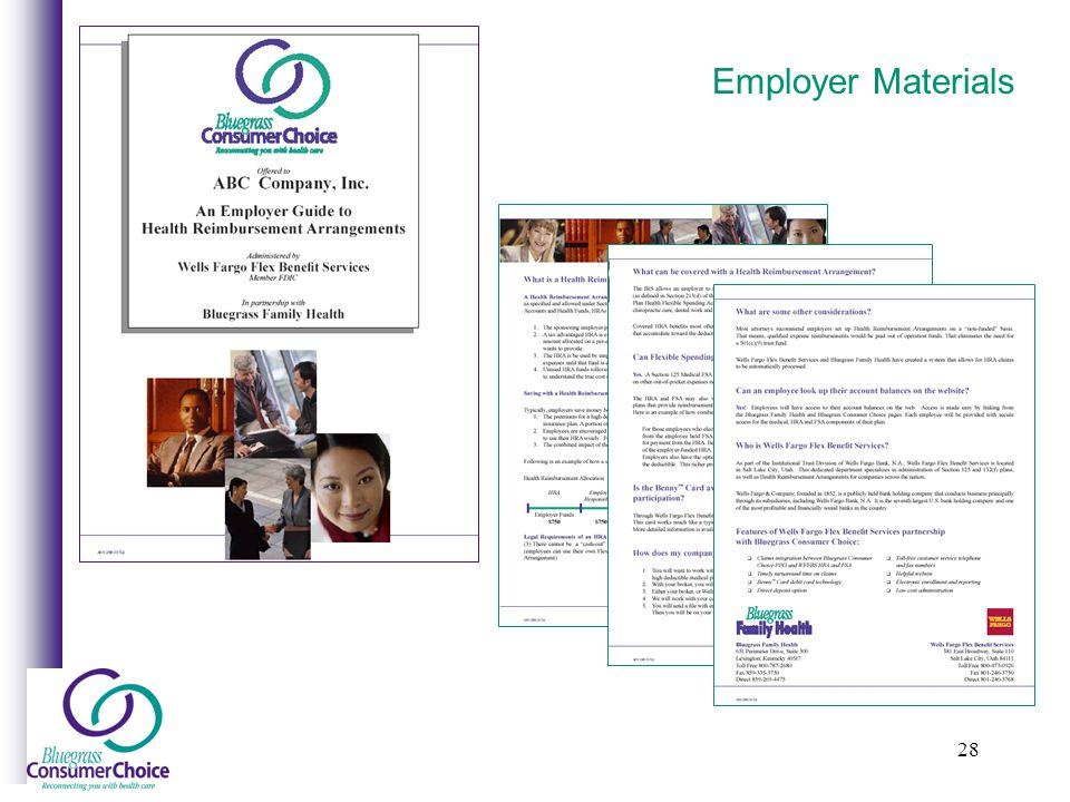 28 Employer Materials