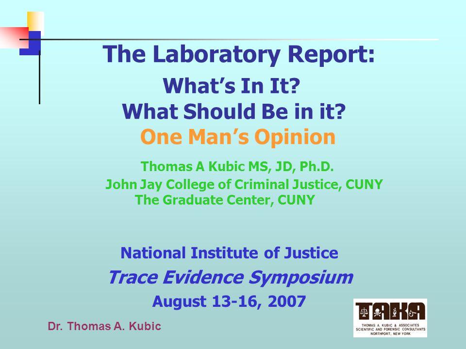 Dr.Thomas A.