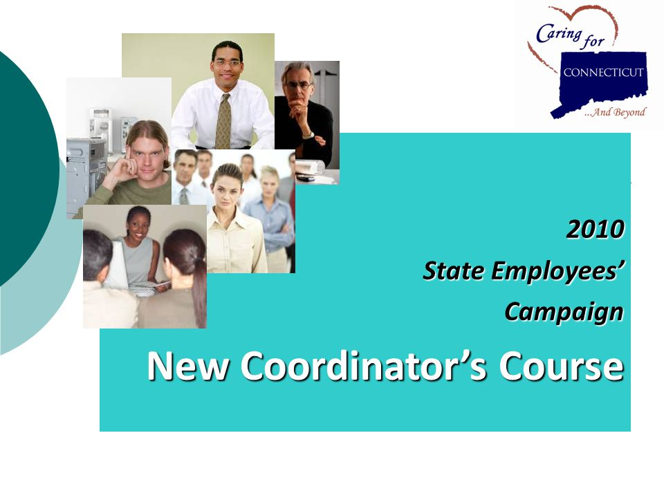 2010 State Employees Campaign New Coordinators Course