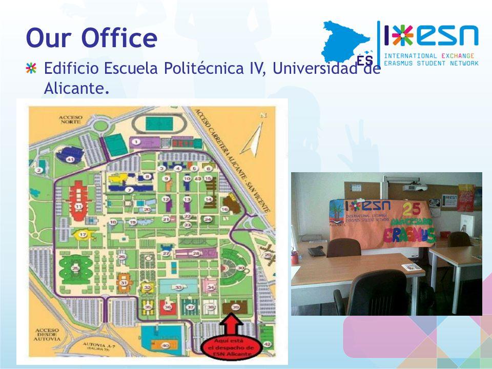 Our Office Edificio Escuela Politécnica IV, Universidad de Alicante.